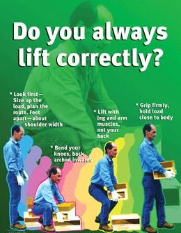 Always Lift Correctly