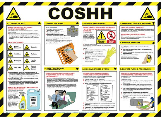 COSHH Info Poster