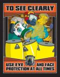 Eye and Face Safety Poster
